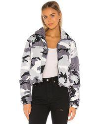 superdown Heidi Puffer Jacket - Multicolour
