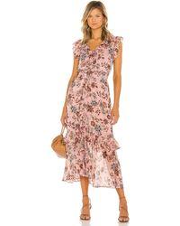 MISA Los Angles Kidada Dress - Pink