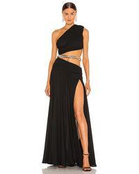 Bronx and Banco X Revolve Jafari Gown - Black