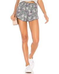 Chaser - Flounce Short In Green - Lyst