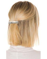 LPA Hayworth Hair Clip - Mettallic