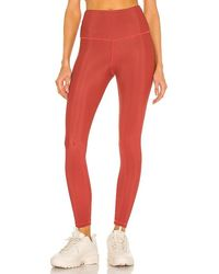 Strut-this Kendall Ankle Legging - Red