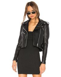Urban Outfitters Mercy Cropped Jacket - Black