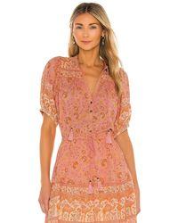 Spell Блузка Sundown В Цвете Абрикос - Розовый
