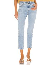 Levi's Wedgie Icon Jean - Blue