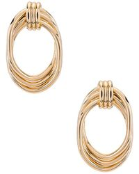 8 Other Reasons Wrapped Hoops - Metallic