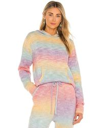 Frankie's Bikinis Aiden Knit Hoodie - Multicolour