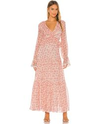 Lovers + Friends Claire Maxi Dress - Pink
