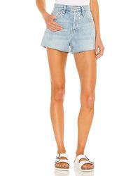 Hudson Jeans Lori high rise short - Azul