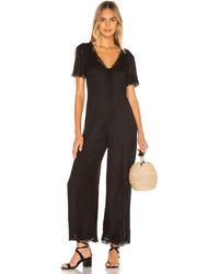 Amuse Society Canyon Palms Jumpsuit - Black