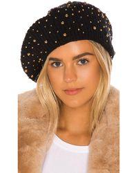 Jennifer Behr ベレー帽 - ブラック