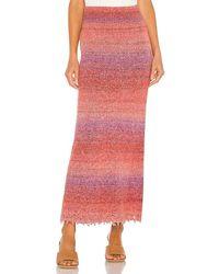 Free People Leanna Swit Skirt - Pink
