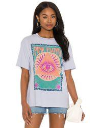 Daydreamer Pink Floyd グラフィックtシャツ - ブルー