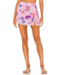 Frankie's Bikinis Boden スカート - ピンク