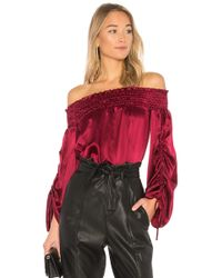 Parker Valentino Blouse - Red