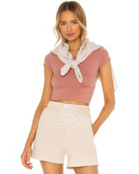 Free People トップ In Pink. Size M/l. - ピンク