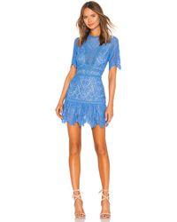 Saylor Darian Dress - Blue
