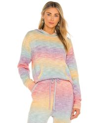 Frankie's Bikinis Aiden Knit Hoodie - Multicolor