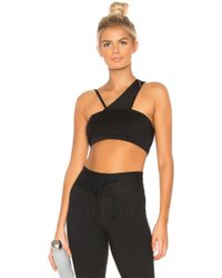 36d16e47b8 Lyst - Year Of Ours Halter Sports Bra in Black