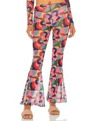 lovewave The Cece Pant - Red
