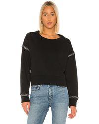AllSaints Rafa スウェットシャツ - ブラック