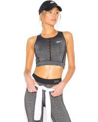 Nike - Hypercool Tank In Gray - Lyst