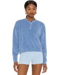 DONNI. Terry スウェットシャツ - ブルー