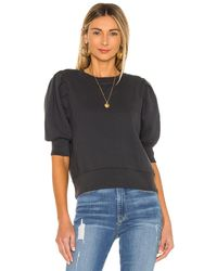 FRAME Shirred スウェットシャツ - ブラック