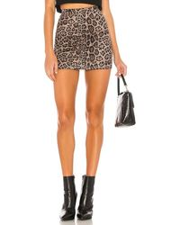 superdown Caressa Mini Skirt - Grey