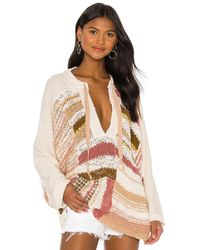 Free People Bayside Pullover - Multicolour