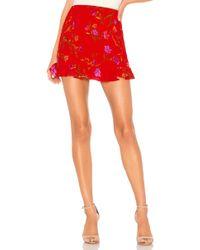 Lovers + Friends - Faye Skirt In Red - Lyst