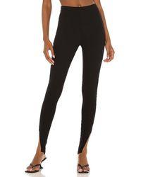 LNA Slit Legging - Black