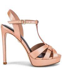 Lola Cruz Сандалии Maura В Цвете Nude - Розовый
