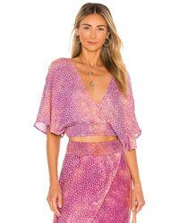 Tiare Hawaii Топ Seminyak В Цвете Smokey Dot Lilac - Пурпурный