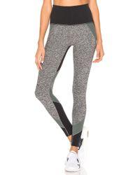 b56e089a02b17 Beyond Yoga - Colorblocked High Waisted Long Legging - Lyst