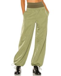 Dion Lee Спортивные Брюки Nylon В Цвете Промытый Оливковый - Зеленый