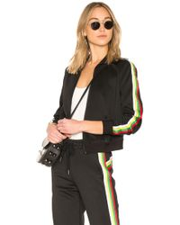 Pam & Gela - Rainbow Sportstripes Track Jacket - Lyst