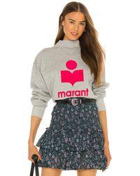 Étoile Isabel Marant Moby Sweatshirt - Grau