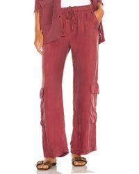 Young Fabulous & Broke Pantalones cooper - Rojo