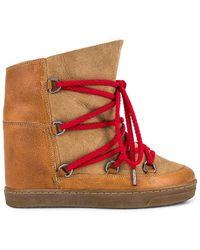 Isabel Marant Nowles ブーツ - ブラウン