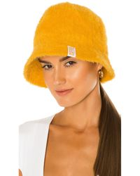 Frankie's Bikinis Sombrero pesca jax - Amarillo
