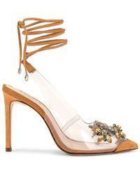 Schutz Босоножки Carline В Цвете Honey Beige - Естественный