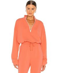LNA Volley Sweatshirt - Orange