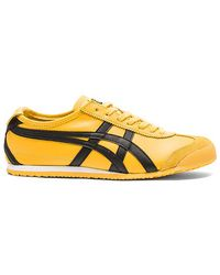 Onitsuka Tiger - Mexico 66 Leather and Suede Low-Top Sneakers - Lyst