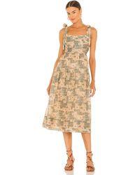 Ulla Johnson Minerva ドレス - ブラウン
