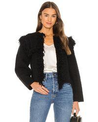 AllSaints Куртка Ashley В Цвете Черный