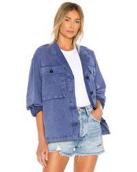 Anine Bing Sawyer Jacket - Blau