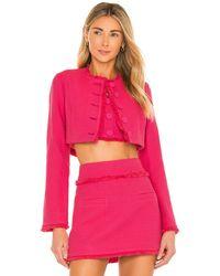 Alexis Madelyn Jacquard Jacket - Pink