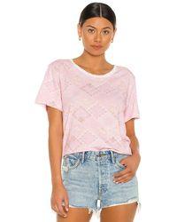LoveShackFancy Calix Tシャツ - ピンク