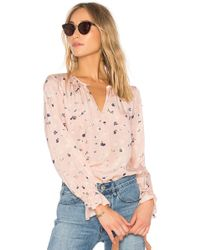 Rebecca Taylor - Holly Floral Top - Lyst